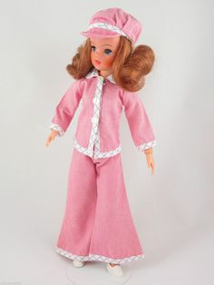 Sindy SMARTY DENIMS 1975 COMPLETE Outfit | No Doll | Vintage Pedigree Sindy…