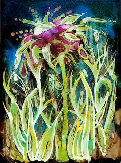 Ich produzierte diese ursprüngliche Blumenstück mit Alkohol-Tinte auf Yupo, ein synthetisches Papier. Die Originalvorlage professionell gescannt und als hochwertiger Druck auf 280gsm Karte wiedergegeben. Ich habe die A4-Version von diesem Kunstwerk aufgeführt, aber dies in jeder Größe reproduziert werden können Sie wünschen, entweder auf Karte oder 425gsm Künstler Grade Leinwand, die geliefert werden können als Leinwand-nur (für die Gestaltung) oder professionell gestreckt auf einem…