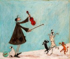 Sam Toft's narrative paintings are quirky, fun and beautifully composed. Description from aubergineart.co.uk. I searched for this on bing.com/images
