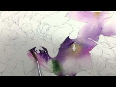 Platycodon - water-color painting Lecture by Joowon (도라지꽃, 주원 수채화 기초 강좌 - 파트 1) - YouTube