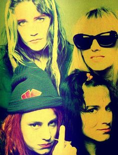L7have announced a documentary film, directed by award-winning documentary filmmaker, Sarah Price (American Movie, The Yes Men, Summercamp) titled 'L7: Pretend We're Dead'.