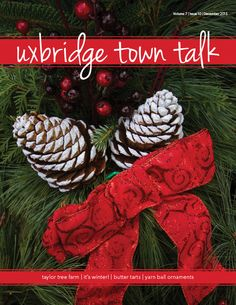 December's Cover Check out our website to read issues of UTT! Ball Ornaments, Christmas Ornaments, Butter Tarts, December, Website, Holiday Decor, Cover, Check, Christmas Jewelry