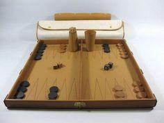 Hermes Backgammon set