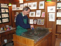Il Papiro, Florence - it's like the Olivander's Wand Shop of paper <3 - this must be the Olivander!