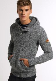 Ski Dog Hooded Henley