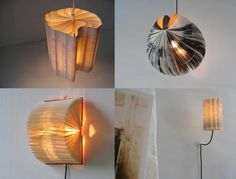 Love these lamps @unbridledbooks shared. I would probably set my house on fire, though, if I tried to make.