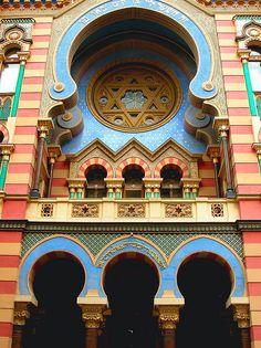 The Jerusalem Street Synagogue, Prague, Czech Republic