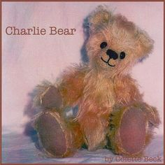 Charlie Teddy Bear - via @Craftsy