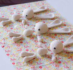 Amigurumi Bunny - Wynne Bunnies interrupted - but not for long