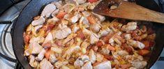Brassói aprópecsenye készítése 16 Paella, Meat, Ethnic Recipes, Food, Essen, Meals, Yemek, Eten