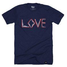 Love of Books T-shirt (Crewneck) - Stately Type