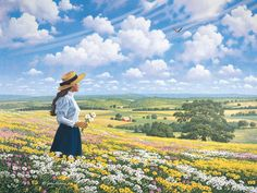 Heaven and Earth ~ John Sloane - Gallery - Scenic Vistas Arte Country, Country Life, Classic Paintings, Beautiful Paintings, Farm Art, Country Scenes, Anne Of Green Gables, Heaven On Earth, Landscape Paintings