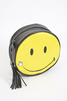 Round Smiley Face Purse