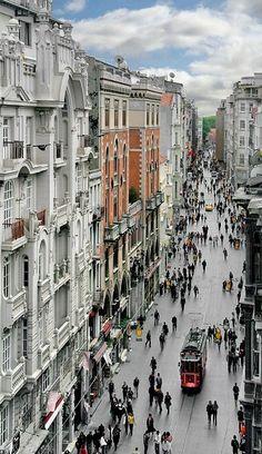 Istiklal Avenue, Istanbul, Turkey