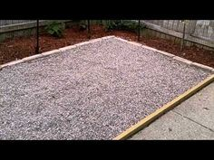 dog yard We discuss How To Make An Outdoor Dog Potty Area amp; Potty Station with pea gravel that looks organised, neat amp; fits in with your yard landscaping. Outdoor Dog Area, Backyard Dog Area, Outdoor Dog Kennel, Backyard Ideas, Patio Ideas For Dogs, Dog Friendly Backyard, Backyard Projects, Outdoor Ideas, Dog Litter Box
