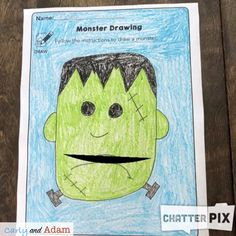 Halloween Monster STEAM Freebie Writing Activity — Carly and Adam Drawing Activities, Stem Activities, Rosie Revere Engineer, Classroom Freebies, Classroom Ideas, Stem Teacher, Student Drawing, Stem Learning, Interactive Stories