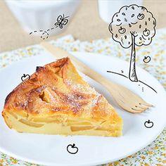 Préchauffer le four à 180° C. Dans un récipient, battre les œufs avec le sucre et l'extrait de vanille. Ajouter la farine et bien mélanger. Incorporer le lait concentré petit en petit, sans cesser de mélanger. Beurrer généreusement le moule. Éplucher et épépiner les pommes. Les couper en lamelles et les ajouter au mélange. Verser …