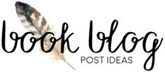 For some reason, I don't often run out of content ideas. I feel like I always have too many ideas in my head at once and want to post them ALL immediately. It's an issue. I know, I know – it's a good problem to have. I figured I would share some really general blog post ideas for book bloggers! Most of these I pulled out of my own head or looked through old posts I wrote. A select few are ideas from other blogs that I credited. General Bookishness Recent book deal announcements you're…