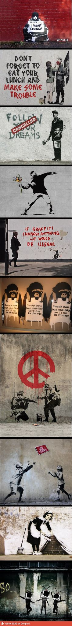 Awesome Banksy
