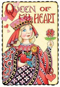 Mary Engelbreit - Queen of Hearts