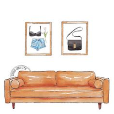Good objects - I've made it from the bed to the couch, there's no stopping me now…. #goodobjects #illustration