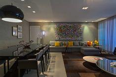 Casa de Valentina; projeto; apartamento; solteiro; masculino; sala de jantar