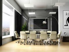 Great Design Small Modern Office Meeting Room - OnArchitectureSite.Com