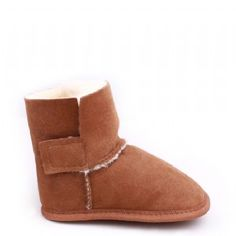 Snugs Baby Sheepskin Booties - they also make very comfy-looking slippers for big people.