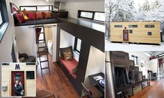 It ain't much but it's home: Couple opt out of the rat race and build their own tiny house for just $33,000 to avoid paying a mortgage