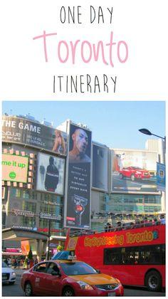 One-day Toronto itinerary