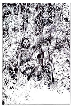 Buffalo Bill et un copain Par Gir