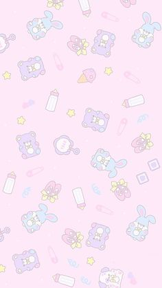 wallpaper, kawaii, and cute afbeelding