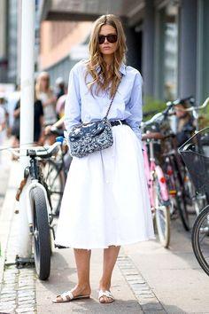 Model-Off-Duty Style: Steal Caroline Brasch Nielsen's Preppy Look (Le Fashion)