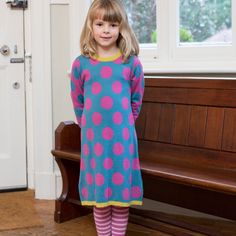 Kite Big Spot Dress, (2-6y) - Girlswear 1-6Y - GIRLS