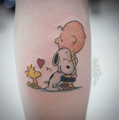 Peanuts Tattoos | In