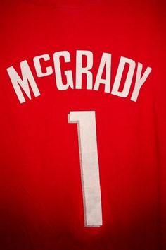 Tracy McGrady 1 Houston Rockets NBA Basketball T Shirt Size XL | eBay $2.99