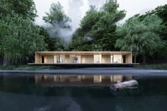 Shelter in the woods on Behance