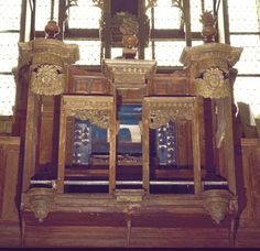 Buffet d'orgue, Fontenay-en-Parisis