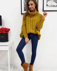 Dámske svetre a roláky - Oblečiemsa.sk Logan, Camel, Turtle Neck, Sweaters, Fashion, Long Sweaters, Moda, Pullover, Sweater