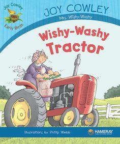 Wishy-Washy Tractor - Mrs. Wishy-Washy's tractor gets stuck in the mud. Who will help?