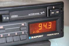 Blaupunkt Freiburg SQR39 80s 90s Classic Casette FM Player Audi BMW Mercedes VW #Blaupunkt