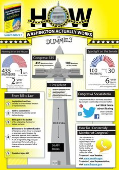 For Dummies details how Washington, D.C. works in this helpful infographic!
