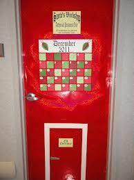 School Christmas Door Contest Winners Thanksgiving