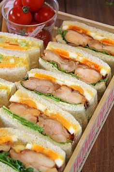 キッズが大好き2種のサンドウィッチピクニック弁当☆ - ぱおのおうちで世界ごはん☆ I Want Food, Cute Food, Yummy Food, Easy Dinner Recipes, Easy Meals, Sandwiches, Bistro Food, Picnic Lunches, Snack