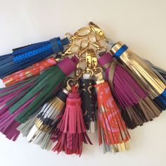 Recent Coolsisters tassels. All handmade in Washington, D.C.