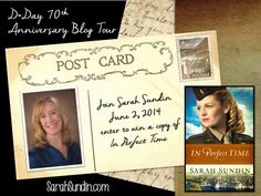 "The D-Day 70th Anniversary Blog Tour kicks off on Sarah Sundin's blog! France's ""other"" D-Day, a visit to Provence, and a chance to win a copy of ""In Perfect Time""! Join 10 Christian WWII fiction authors June 2-13, 2014 as we commemorate the brave men who stormed the beaches of Normandy - plus a chance to win all ten books!"