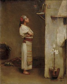 Theodoros Ralli - Devotion, 1886