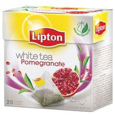 LIPTON | La meva marca preferida de tés. Tè blanc amb granada. El tè blanc és depuratiu i boníssim per la pell