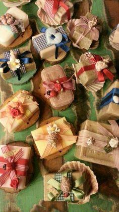 Con un pò di fantasia. ..le nostre saponette di Marsiglia diventano... una profumatissima idea regalo!