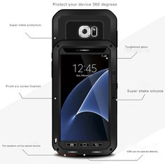 Love Mei Powerful Samsung Galaxy S7 Protective Case
